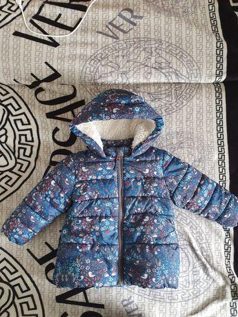 Продам куртку Next осень-весну 86 см