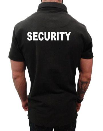 Тениска за охранители - SECURITY тениски
