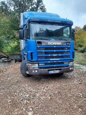 Camion Scania 124L de 18 T NE FARDAT ȘI NE RUJAT
