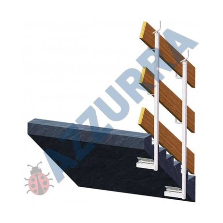 PARAPET provizoriu reglabil balcon parapet scari  SH zincat