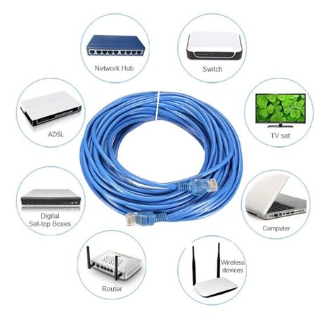 Интернет кабель сетевой лан lan для компьютера интернета модема 10 20