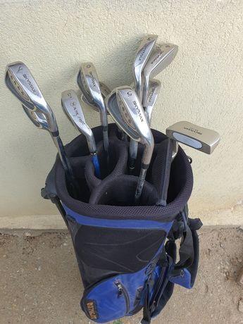 Crose Golf cu rucsac manusa 10 bile si cuie de bile