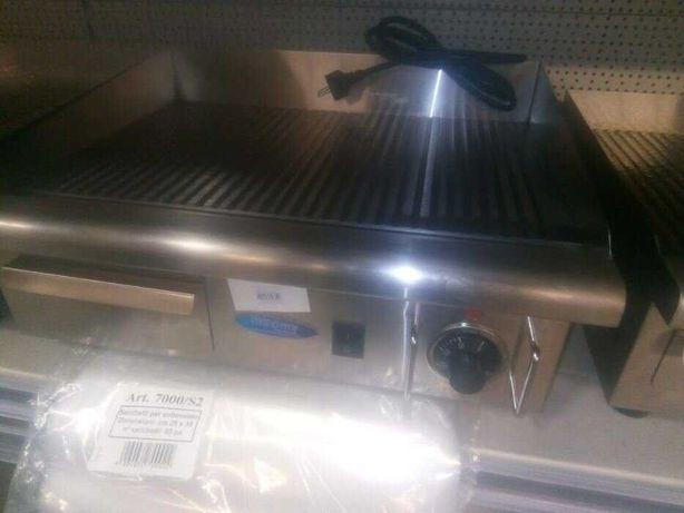 Grill,plita gratar 60x50cm striat electric inox nou sigilat 220v-3kw