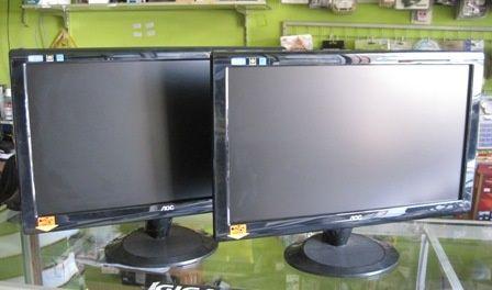 Мониторы широкоформатные LED как новые ( компьютер манитор )
