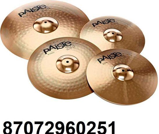 Продам новый комплект барабанных тарелок Paiste 201