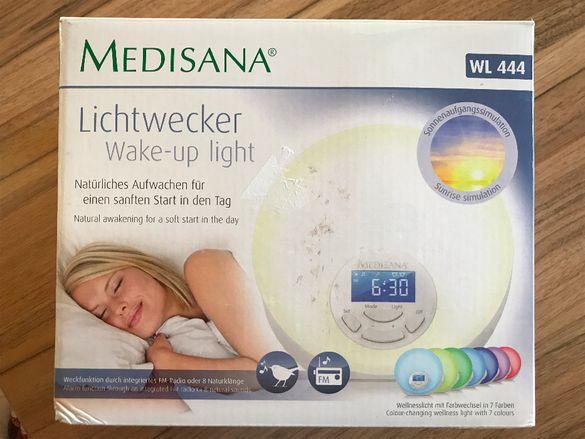 Светеща нощна лампа с часовник и радио Medisana WL 444