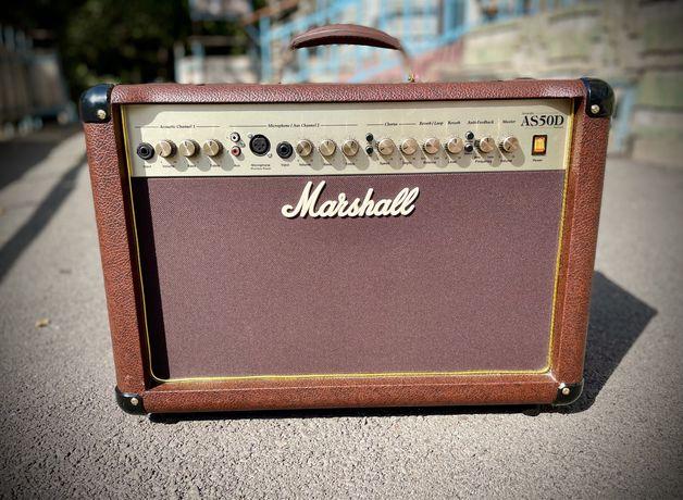 Marshall AS 50D комбоусилитель для электроакусчтической гитары