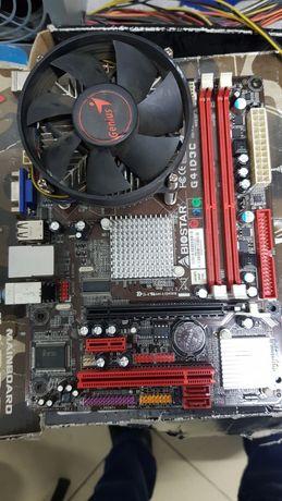 Biostar G41 с процессором  Core2 duo E7400