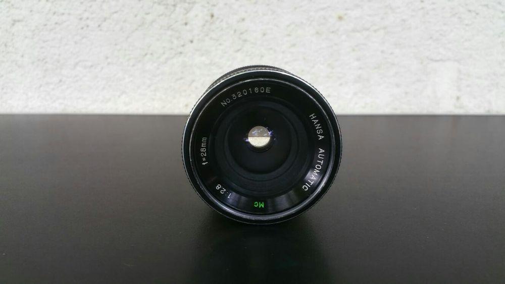Obiectiv foto montura nikon fix 28mm 1:2.8 hansa automatic Barlad - imagine 1
