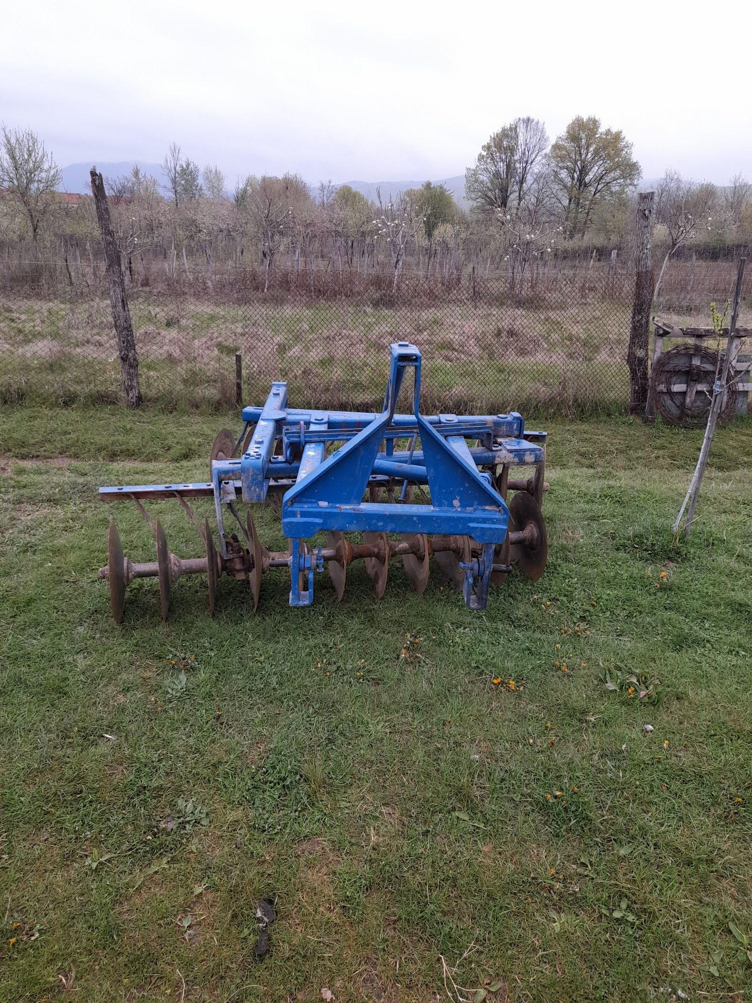 Disc agricol pentru tractor purtat