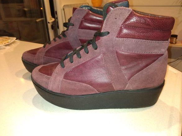 Дамски боти,обувки от естествена кожа SCHUH