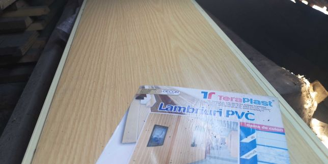 NOU! Lambriu PVC PIN Teraplast 260cm x 25cm DECORSISTEM 30 buc-20 mp