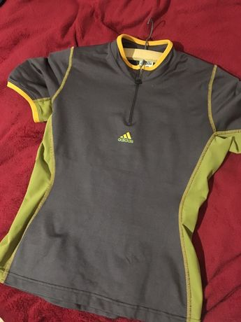 Tricou sport, cu buzunar la spate, Adidas