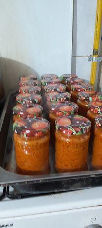 Vand zacusca de legume și Ghebe