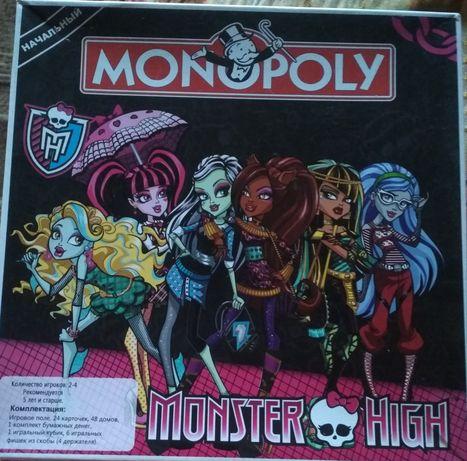Игра детская Монополия