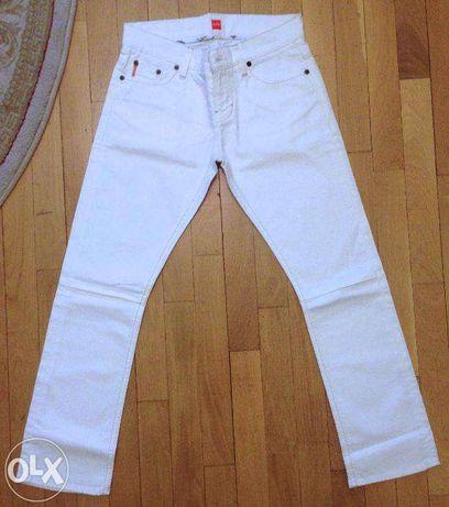 jeans Hugo Boss Lady, originali, albi, S, blugi, ginsi, denim