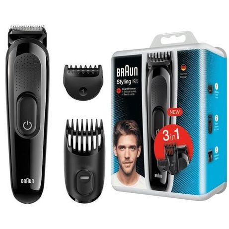 Триммер для стрижки бороды Braun 3 в 1