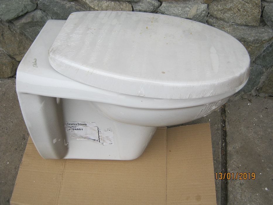 WC suspendat Dolomite + capac NOU !!! Campulung - imagine 1