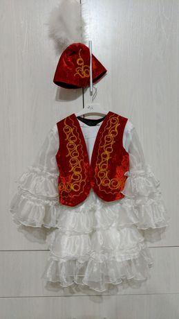 Казахское национальное платье на 4-5 лет. Казакша койлек