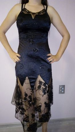Дизайнерска рокля от Стоян Радичев черна