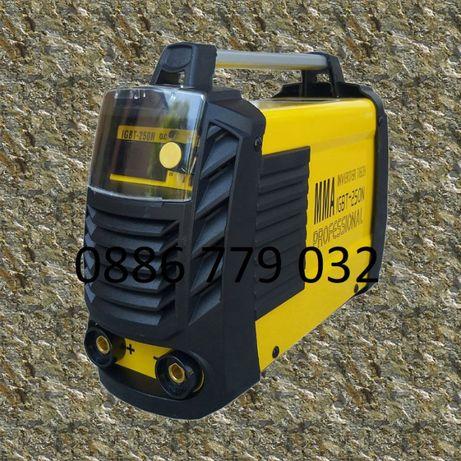 ПРОМОЦИЯ 250А N2 2021 3,5 кг Електрожен инверторен с дисплей