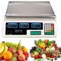 Cantar Electronic 40kg Piata Digital Comercial Pentru Fructe Si Legume