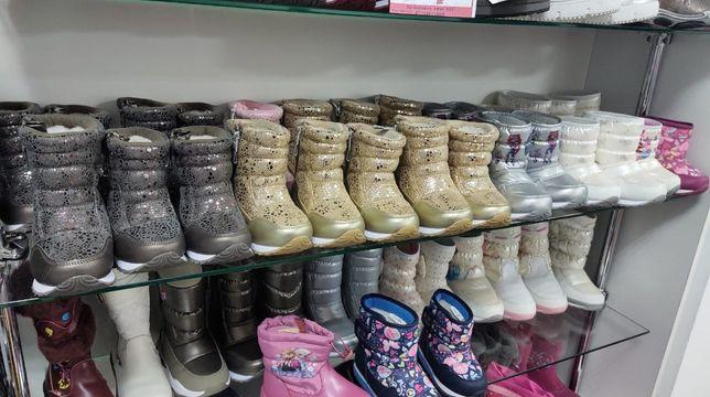 Детская обувь размеры разные