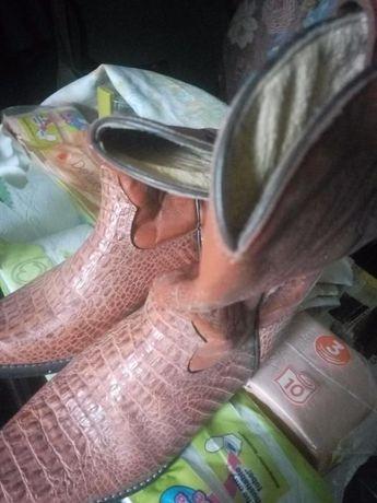 Cizma piele Reptiles