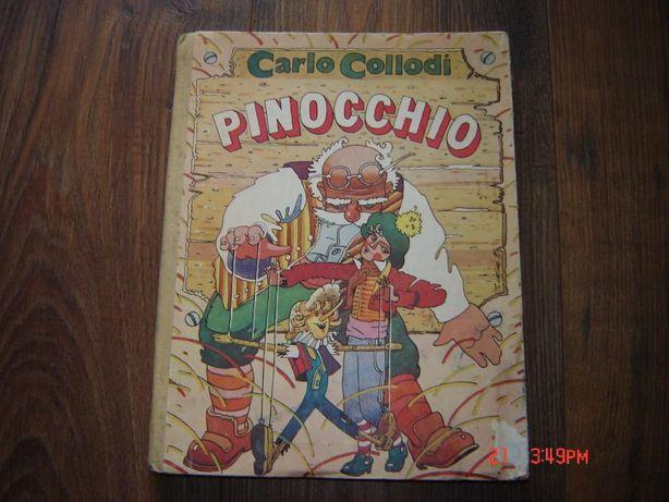 Carte Pinocchio-Carlo Collodi anii 90