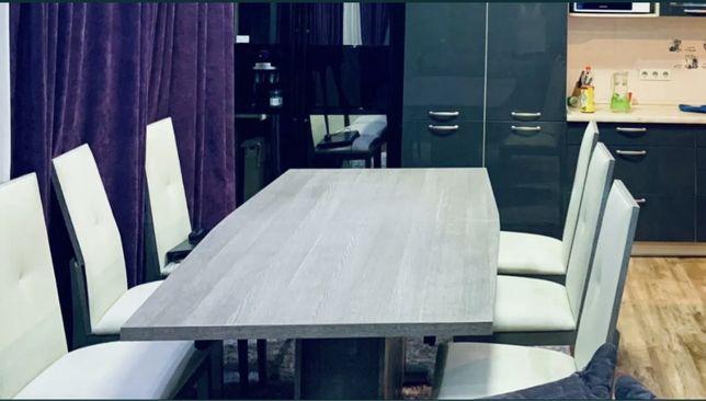 Стол со стульями Bravo (Италия) с функцией удлинения