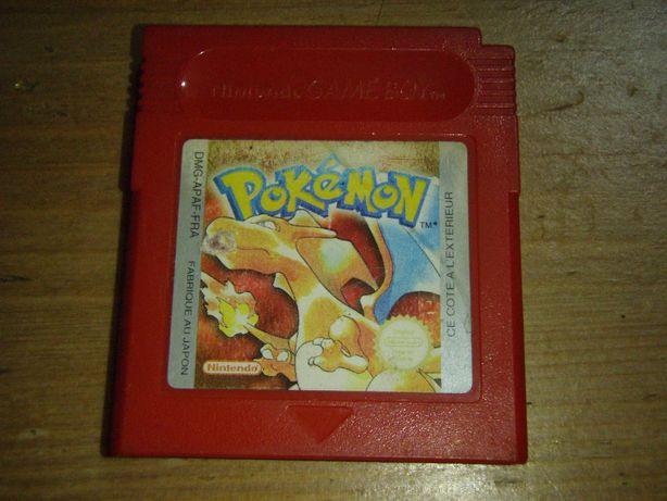Pokemon - version Rouge, Nintendo GameBoy (DMG-APAF-FRA)