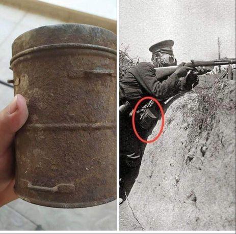 Кутия пт немски противогаз