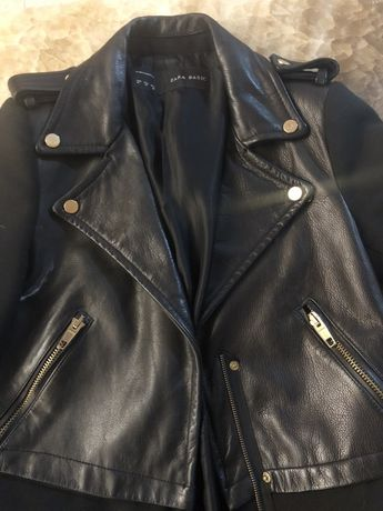 Palton Zara piele naturala