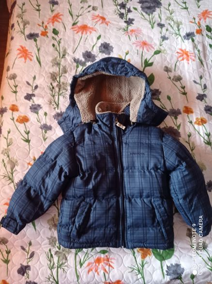 Зимно пухено яке, Марка London Fog, 104 см.