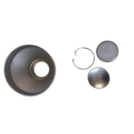 Palnie din aluminiu cu sita, capacitate 6.0 litri (medie)
