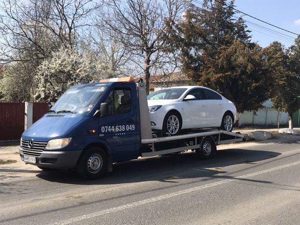 Tractari auto Pitesti platforma auto