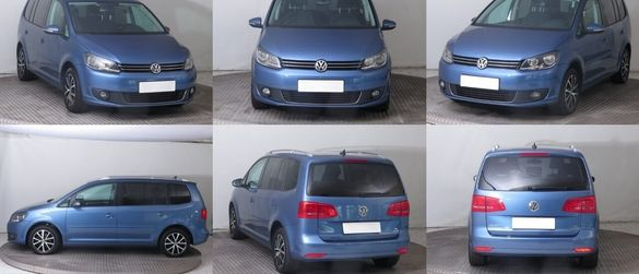 Vw Touran 1.6 TDI 105к.с. 6ск НА ЧАСТИ