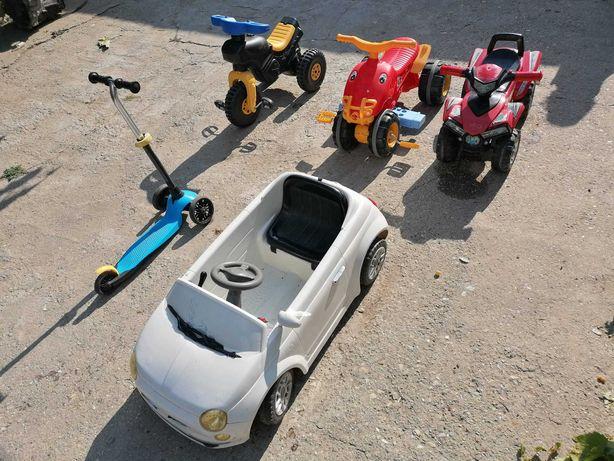 Trotinete ,ATV-uri si  masinute pentru copii