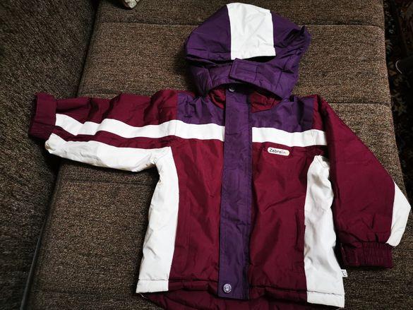Зимно детско ски яке Zebralino 92 см
