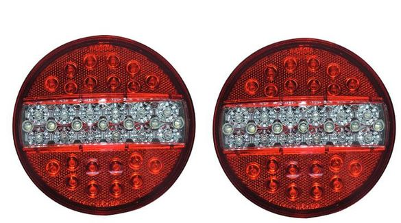 Диоден LED стоп 12/24V / Камион, Ремарке, Бус/
