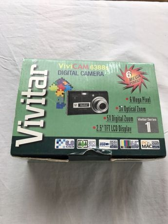 Фотоапарат Vivitar vivicam 6388s