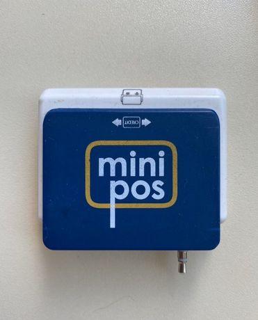 Минипос для считывания платежных карт Халык банк через смартфон.