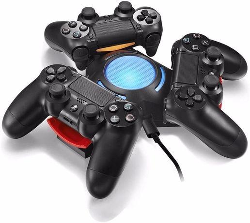 PlayStation 4 ps4 Зарядно поставка Dock Док станция за зареждане пс4