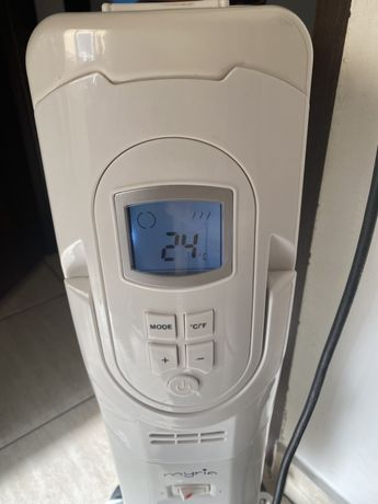 Calorifer electric digital