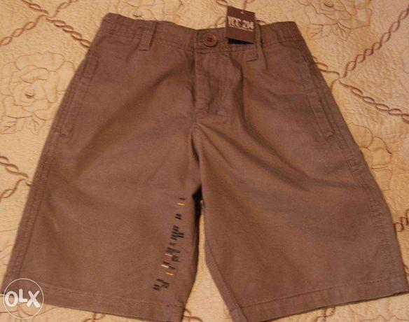 Pantaloni bermude YCC 214 noi - varsta 8 ani (126 cm)