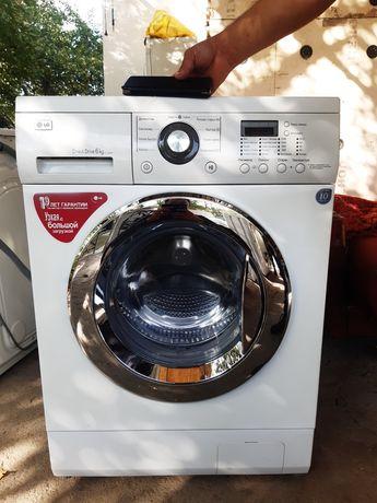 Продам стиральную машину Лж с прямым приводом 6кг, отжим 1200об/мин