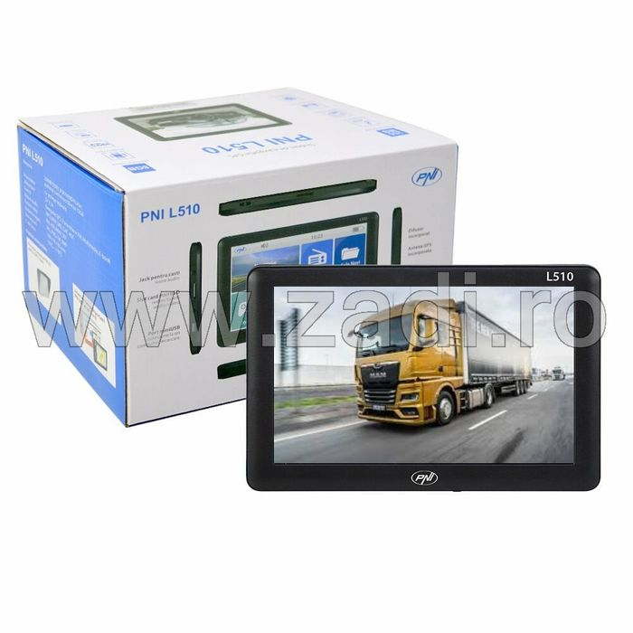 GPS ieftin cu harti-display-5 inch PNI-800mhz-256ram-8Gb- full EU Bistrita - imagine 1