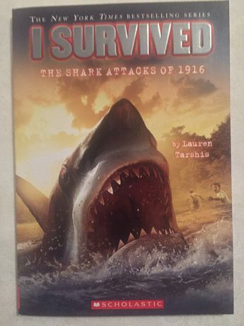 Carte engleza I Survived The shark attacks of 1916