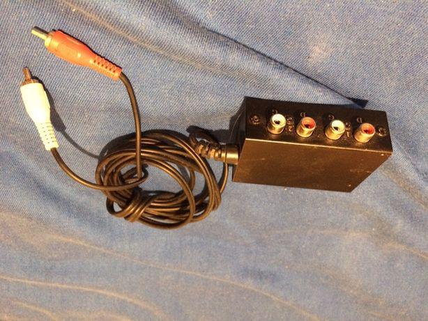 Comutator audio