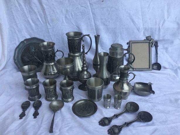 Colectie obiecte din zinc